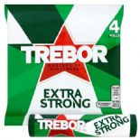 Trebor Extra Strong Peppermint x 4 Pack 166g